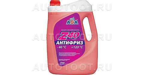 AGA Антифриз красный 5кг AGA -