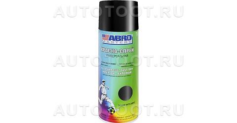 Краска-спрей Черный Глянцевый Abro Masters ABRO SP-011-AM 400мл. -