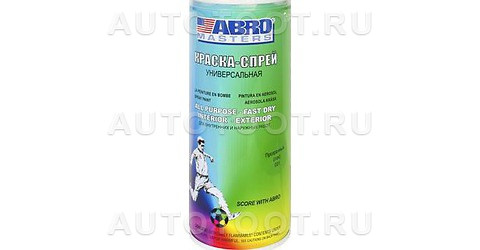 Краска-спрей Лак Abro Masters ABRO SP-031-AM 400мл. -