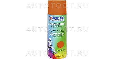 Краска-спрей оранжевая Abro Masters ABRO SP-065-AM 400мл. -