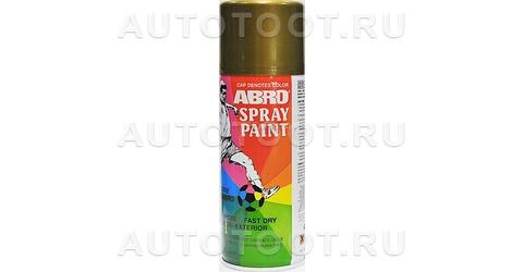 Краска-спрей Бронза ABRO 27 473мл. -