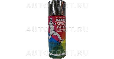 Краска-спрей Хром ABRO 29 473мл. -