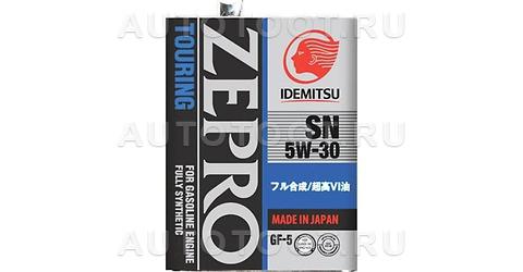 5W-30 SN/GF-5 4л Масло моторное синтетика ZEPRO IDEMITSU TOURING -