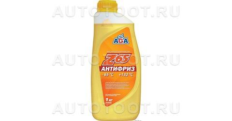 AGA Антифриз готовый желтый (-65) 946мл -