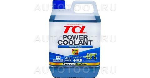 TCL LLC Антифриз POWER COOLANT концентрированный синий, длительного действия, 2 л -