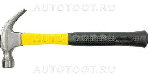 Молоток с пластиковой ручкой, гвоздодером, 0.6 кг -