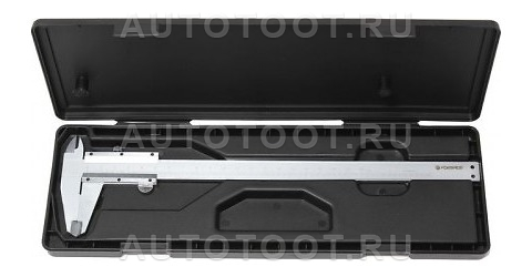 Штангенциркуль 0-150 мм, 0.02 мм, внутр. d, наруж. d + глубиномер, в пластиковом футляре -