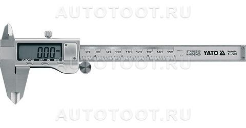 Штангенциркуль электронный (цифровой), 150 мм, точность - 0.03 мм -