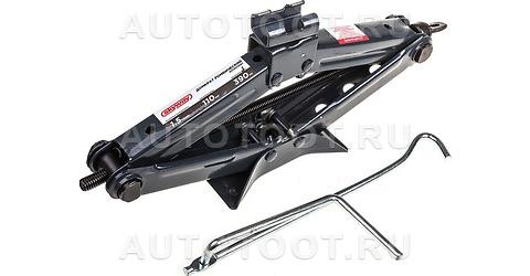 Механический домкрат ромбический 1, 5т h 110-390мм SKYWAY в сумке -