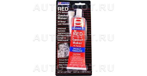 Герметик прокладок ABRO MASTERS красный 85г -