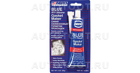 Герметик синий силиконовый ABRO 85г -