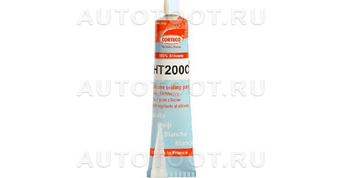 Герметик прокладочный (80мл) от -50 до +200С (белый) CORTECO -