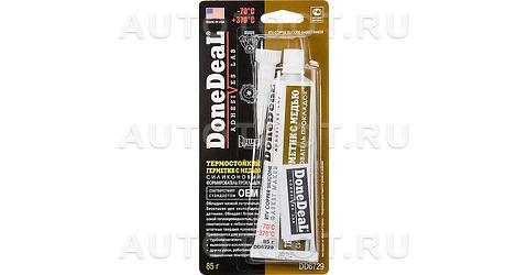 Герметик термостойкий силиконовый формирователь прокладок медный Done Deal -